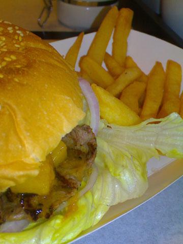 Burger Joint – 香芒羊肉堡