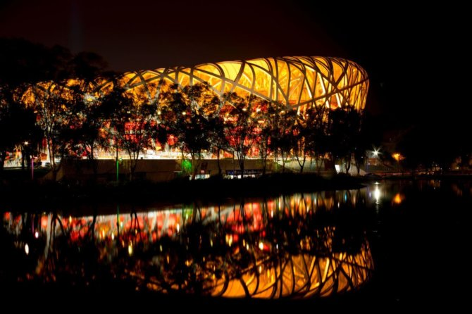 国家体育场-鸟巢 The National Stadium – the bird's nest