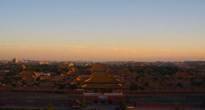 晚霞-故宮 Sunset – Imperial Palace