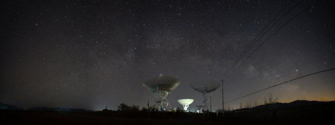 密云不老屯天文台 – 星空 银河 Miyun Bulaotun Observatory – Stary Sky and Galaxy